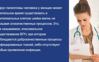 ВПЧ 44 типа у женщин: методы диагностики и лечения