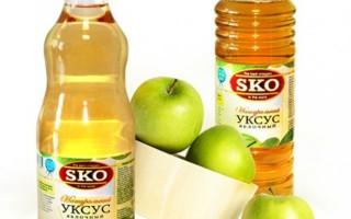 Уксус от папиллом: применение яблочного и столового