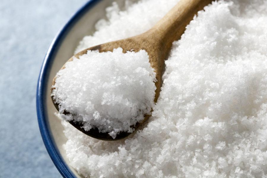 Избавляемся от папиллом с помощью соли
